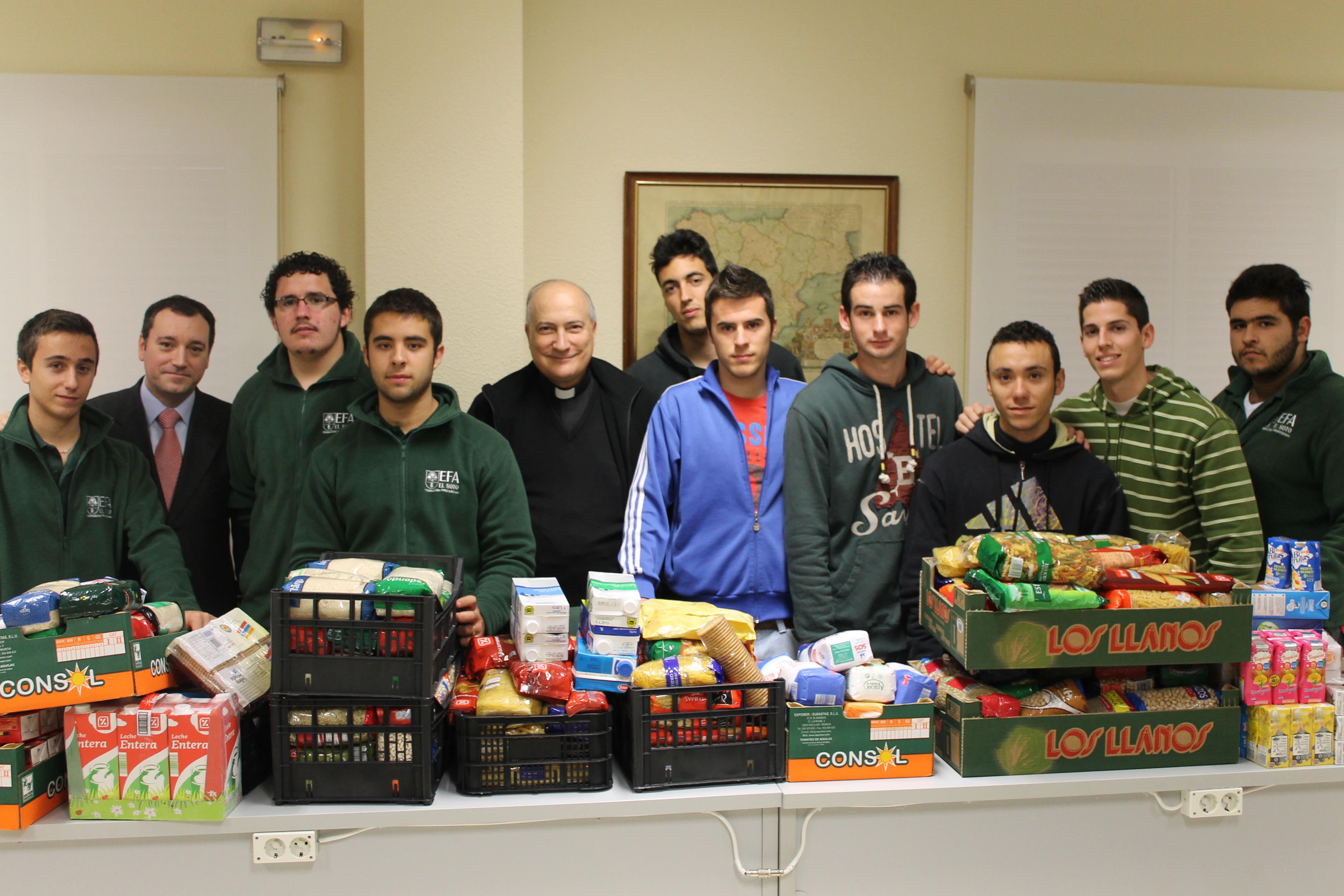 Campaña de recogida de alimentos (EFA EL Soto)