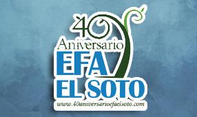 Acceso a la web del 40 aniversario de la EFA El Soto
