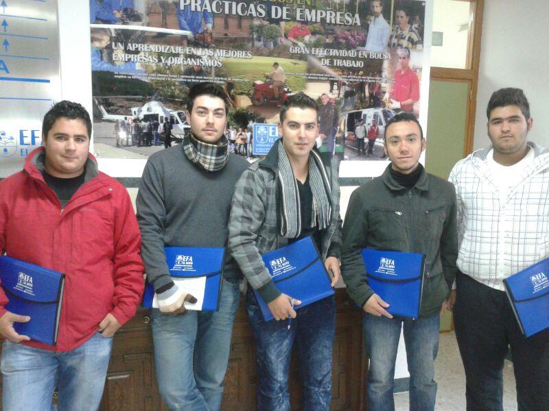 Alumnos de la EFA El Soto visitan el CADE