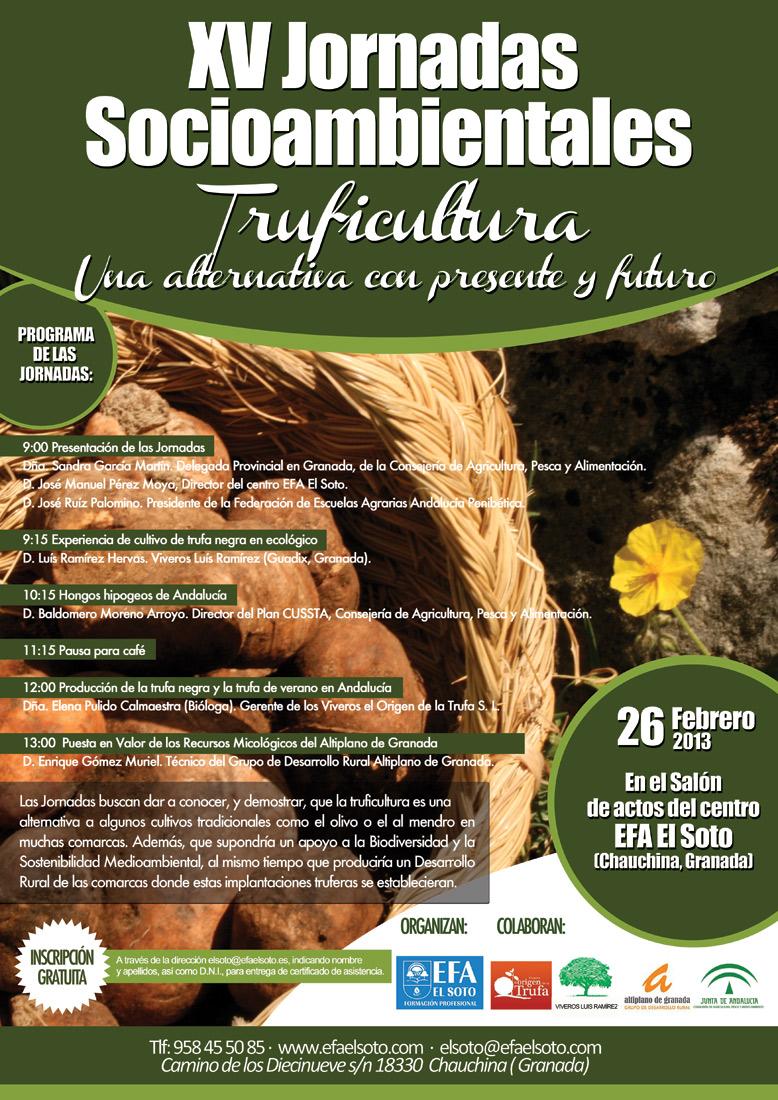 Jornadas sobre Truficultura EFA El Soto