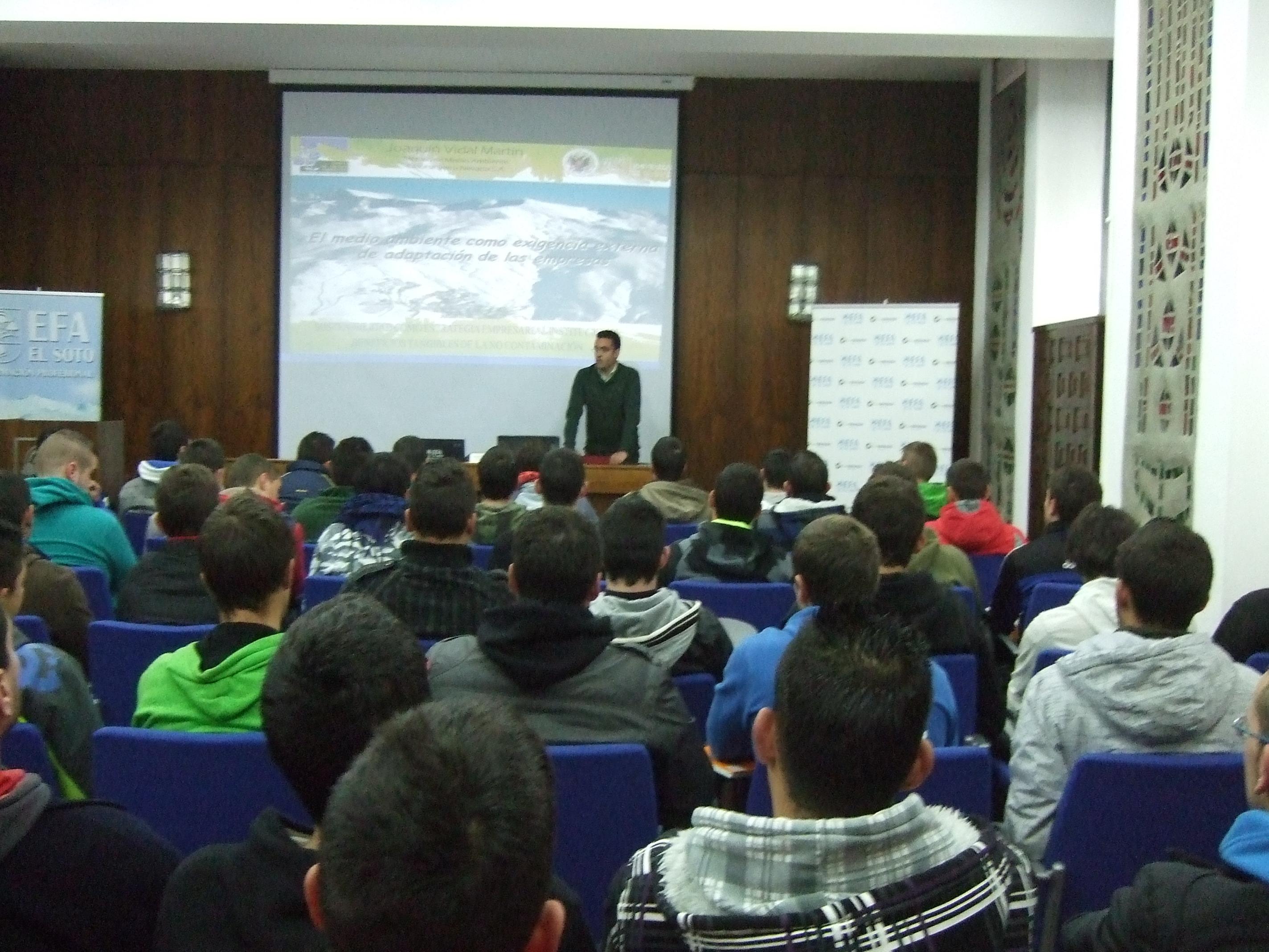 Conferencia Joaquín Vidal EFA EL SOTO