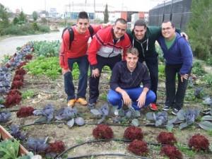 Alumnos de producción agroecológica