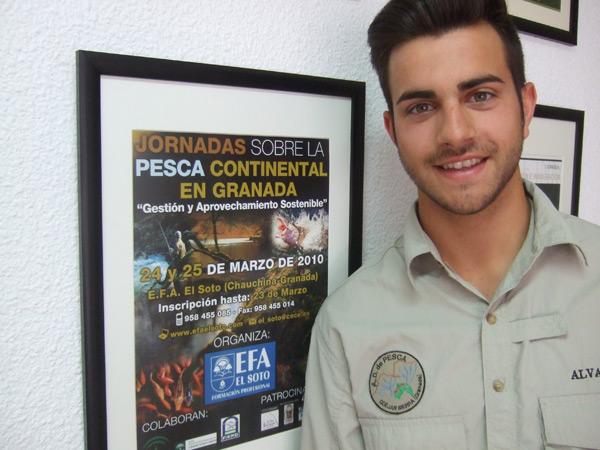foto de alumno Álvaro Fernández campeon de pesca de España