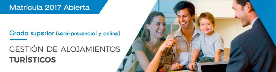 Gestión de Alojamientos Turísticos (Semipresencial y Online)
