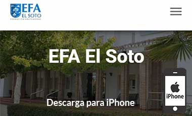 Descarga EFA App - iPhone