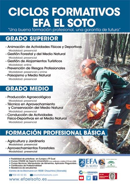foto oferta educativa preinscripción EFA El Soto