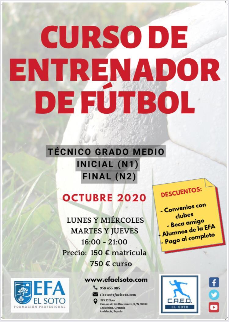 curso futbol